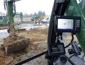 Reportage Chantier STRADEST